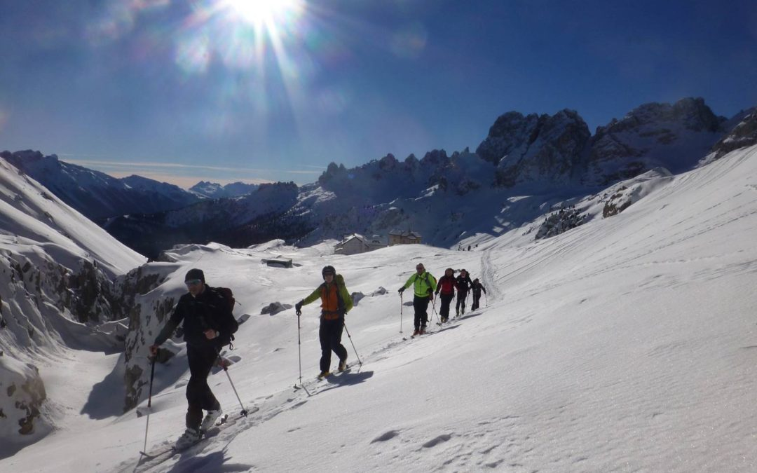 Intensive ski-mountaineering course for beginners