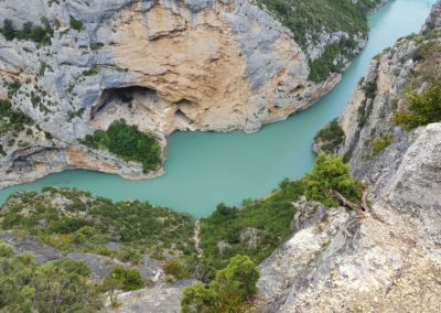 Verdon vista lago